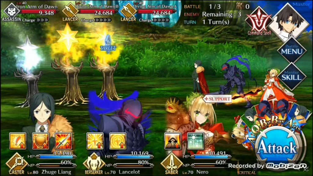 fate grand order team