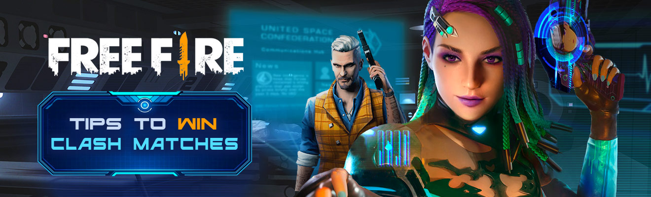 free fire tips to win clash matches