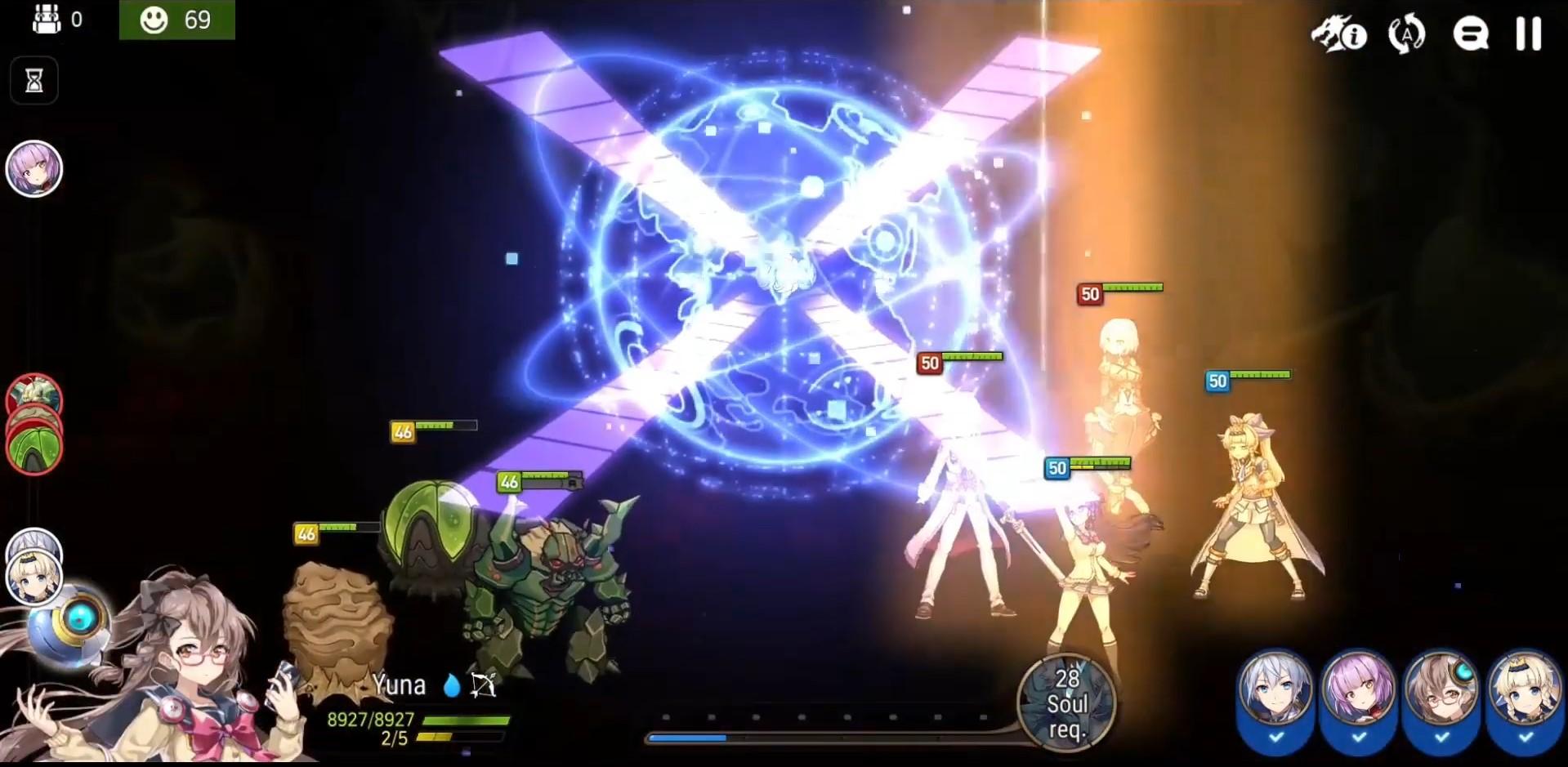 Epic Seven battle