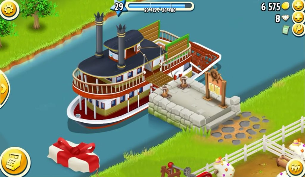 Hay Day Guide Boat Dock