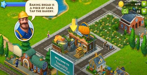 Township baking bread