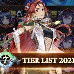 epic seven tier list 2021