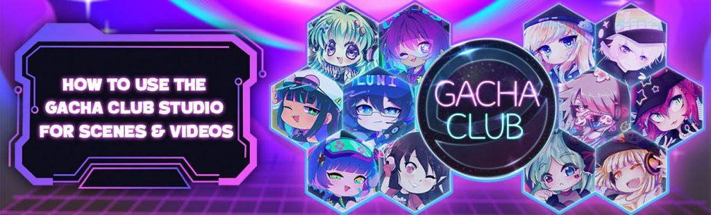 gacha club studio header