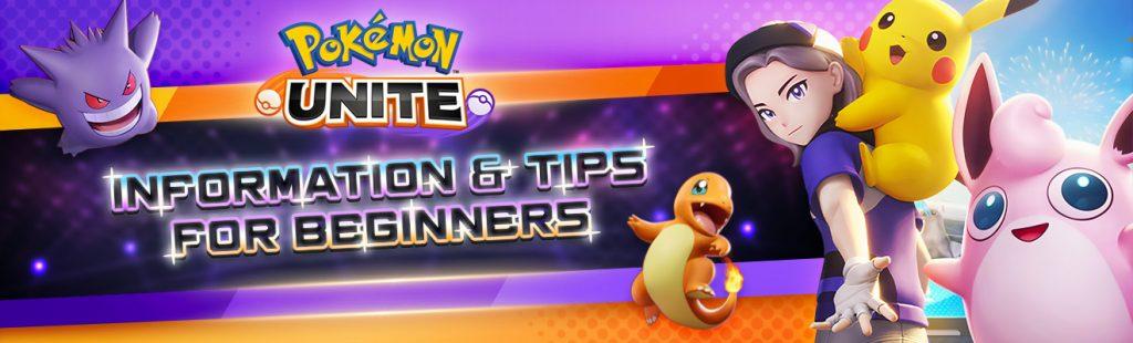 pokemon unite tips for beginners header